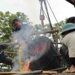 Thanh Hóa: Lễ chập lửa đúc trống đồng Hào khí non sông chào mừng bầu cử Quốc hội