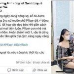 Cô gái tiêm vaccine nhờ ông ngoại bị phạt 12,5 triệu đồng vì tin giả